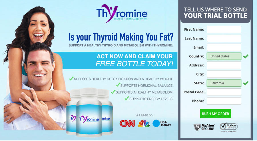 thyromine website